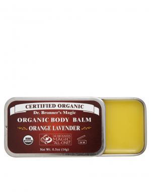 Органический бальзам для тела  14 г. Dr. Bronner. Цвет: lime