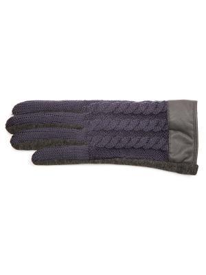 Перчатки J&Elisabeth. Цвет: серый