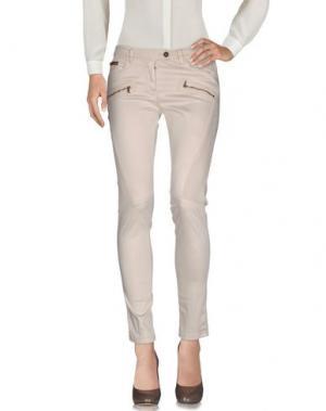 Повседневные брюки AERONAUTICA MILITARE. Цвет: бежевый
