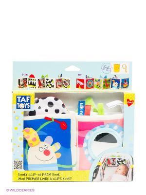 Игрушка Книжка Kooky TAF TOYS. Цвет: молочный, розовый, синий, салатовый