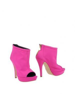 Полусапоги и высокие ботинки LA FILLE des FLEURS. Цвет: фуксия
