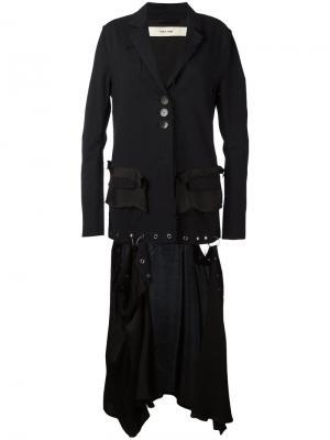 Куртка с бахромой Damir Doma. Цвет: чёрный