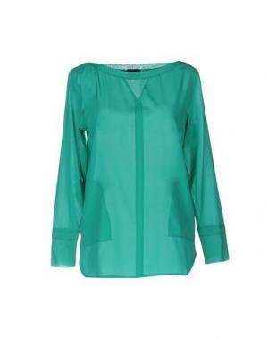 Блузка GOTHA. Цвет: светло-зеленый
