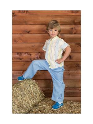 Рубашка Frizzzy. Цвет: серо-голубой