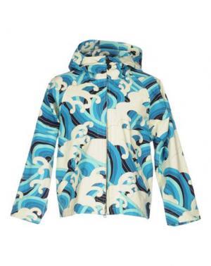 Куртка BLUE JAPAN. Цвет: лазурный