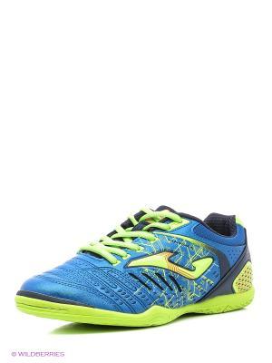 Футбольная Обувь Maxima Joma. Цвет: салатовый, синий