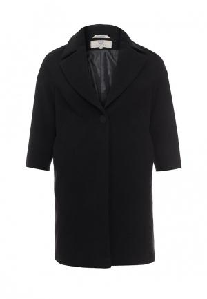 Пальто Electrastyle. Цвет: черный