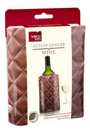 Охладительная рубашка для вина Vacu Vin. Цвет: коричневый