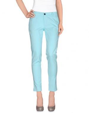 Повседневные брюки ANOTHER LABEL. Цвет: светло-зеленый