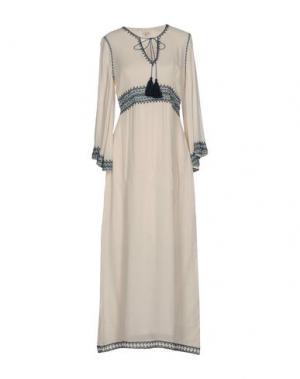 Длинное платье TALITHA. Цвет: бежевый