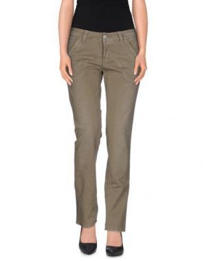 Джинсовые брюки PAUSE. Цвет: серый