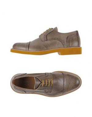 Обувь на шнурках BRUNO VERRI. Цвет: песочный