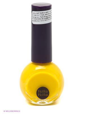 Лак для ногтей Бейсик Неилз YL01 , желтый банан, Holika. Цвет: желтый