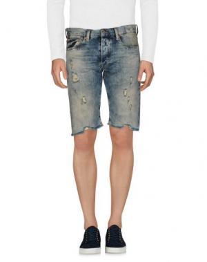 Джинсовые шорты DENIM & SUPPLY RALPH LAUREN. Цвет: синий