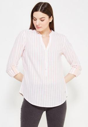 Рубашка Mustang. Цвет: розовый