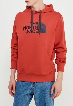 Худи The North Face. Цвет: красный