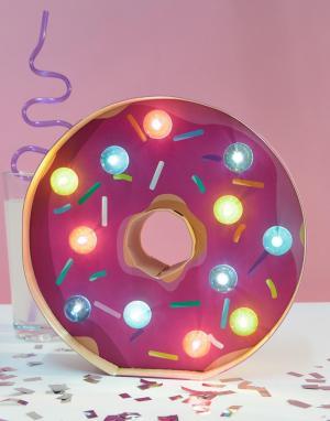 Sunnylife Светильник в виде пончика. Цвет: мульти
