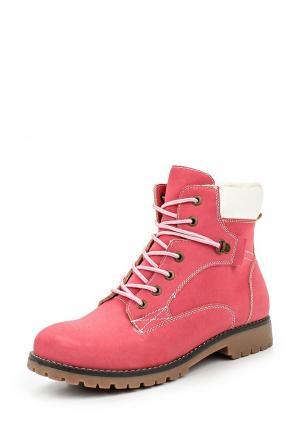 Ботинки Keddo. Цвет: розовый