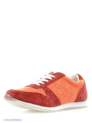 Кроссовки Dino Ricci. Цвет: оранжевый