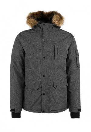 Куртка утепленная Top Secret. Цвет: серый