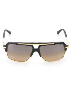 Солнцезащитные очки Mach Four Dita Eyewear. Цвет: чёрный
