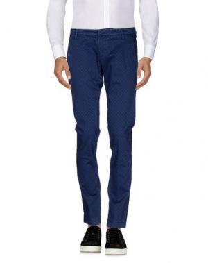 Повседневные брюки MICHAEL COAL. Цвет: грифельно-синий