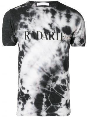Crystal tie dye T-shirt Rodarte. Цвет: чёрный