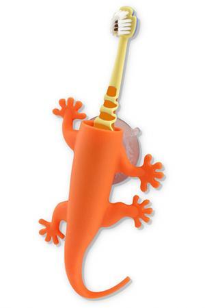 Держатель для зубной щетки J-Me. Цвет: оранжевый
