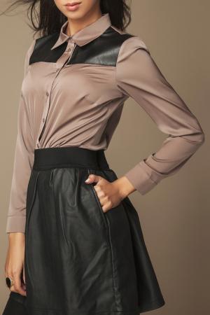 Рубашка Ambigante. Цвет: коричневый