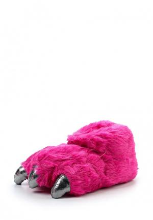 Тапочки Loungeable. Цвет: розовый