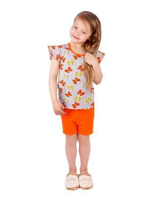 Комплект домашний Апрель. Цвет: оранжевый, желтый