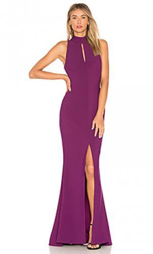 Вечернее платье harbor LIKELY. Цвет: фиолетовый