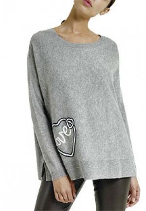 Джемпер MAX & MOI. Цвет: серый