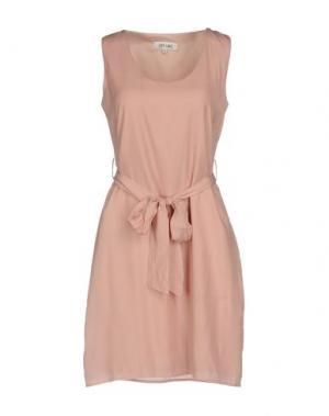 Короткое платье DRY LAKE.. Цвет: пастельно-розовый