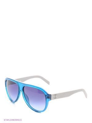 Солнцезащитные очки JC 598S 90W Just Cavalli. Цвет: голубой