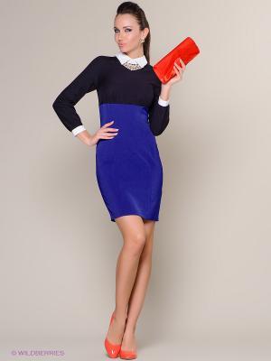 Платье Colambetta. Цвет: синий, черный