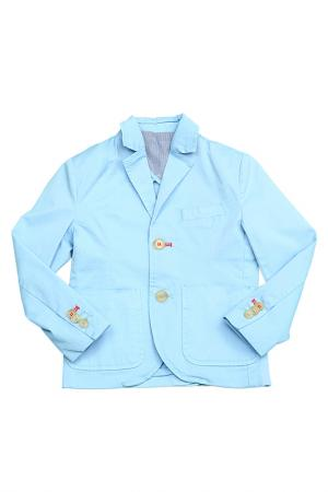 Пиджак Silvian Heach. Цвет: голубой