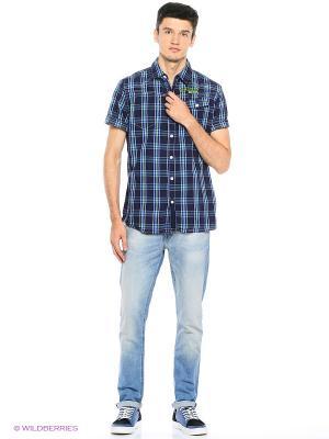 Рубашка RG 512. Цвет: темно-синий