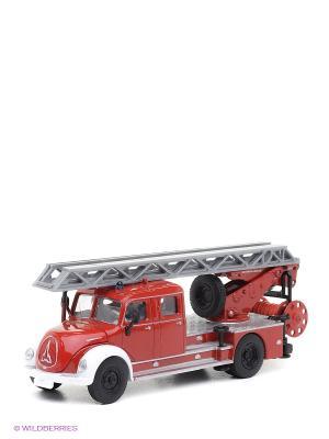 Пожарная машина ретро с лестницей. SIKU. Цвет: синий