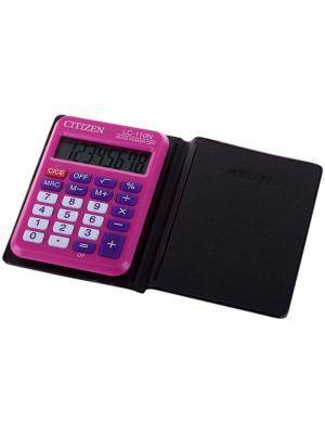 Калькулятор настольный SDC-805BN 8 разрядов, двойное питание, 102*124*25 мм, черный CITIZEN. Цвет: черный