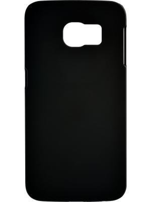 Накладка для Samsung Galaxy S6 Edge skinBOX. Серия 4People. Защитная пленка в комплекте. skinBOX. Цвет: черный