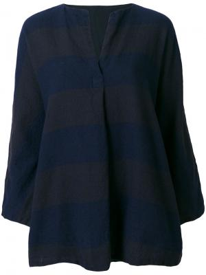 Рубашка в полоску Daniela Gregis. Цвет: синий