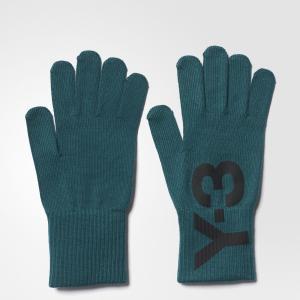Перчатки Y-3 Logo by adidas. Цвет: none
