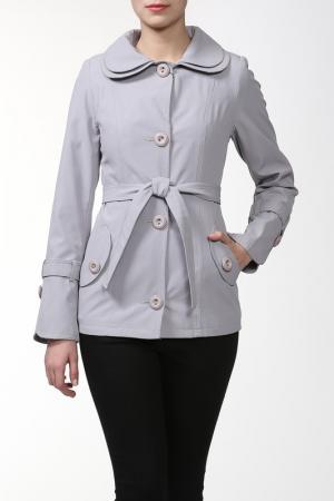 Пальто ALVAR. Цвет: серый