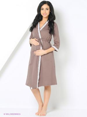 Комплект одежды Mare Bella. Цвет: серо-коричневый