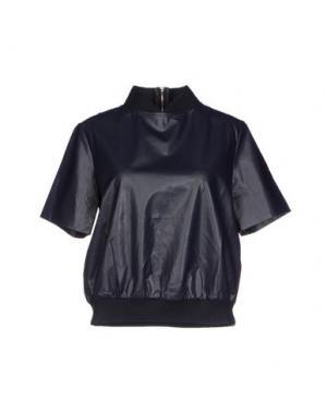 Блузка EMMA COOK. Цвет: темно-синий
