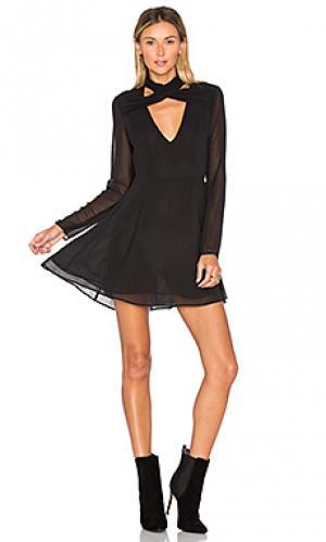 Платье gilette Privacy Please. Цвет: черный