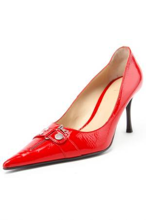 Туфли E-Skye. Цвет: красный