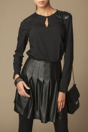 Блуза Ambigante. Цвет: черный