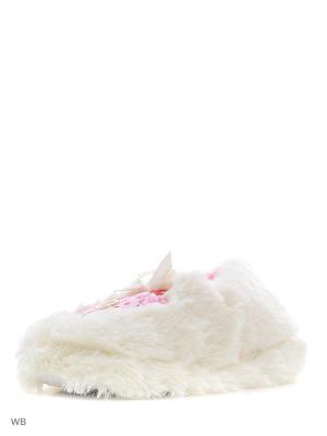 Тапочки Алми. Цвет: белый